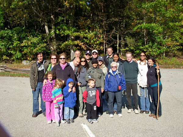 Bayonne Family Practice Patient Hikes with Dr. De Koyer -  The Family Chiropractic Center