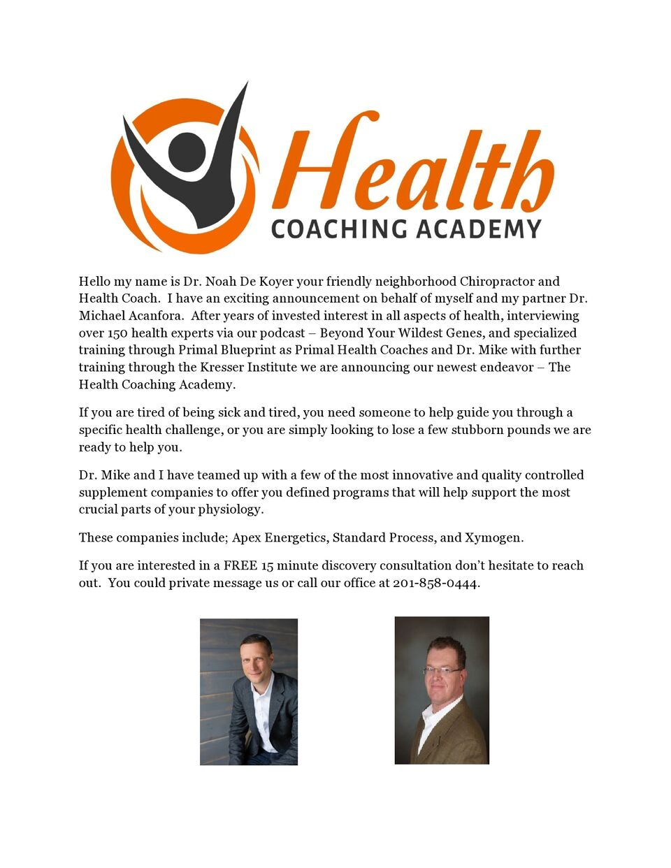 The Health Coaching Academy With Bayonne Best Chiropractor